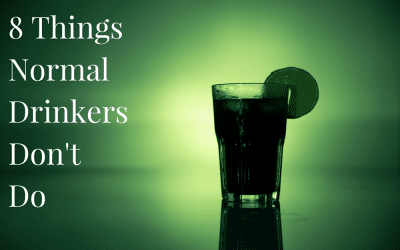 8 Things Normal Drinkers Don't Do