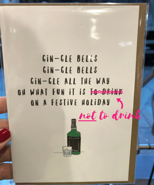 Boozy Christmas Cards What They Should